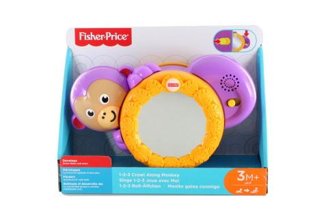 Fisher Price Veselá opička se zvukem