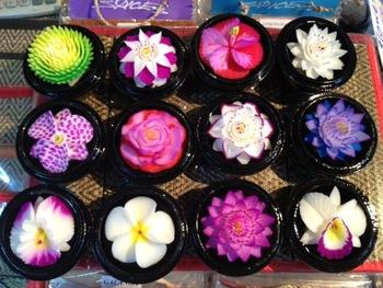 SAWAN Thajské mýdlo ve tvaru květu