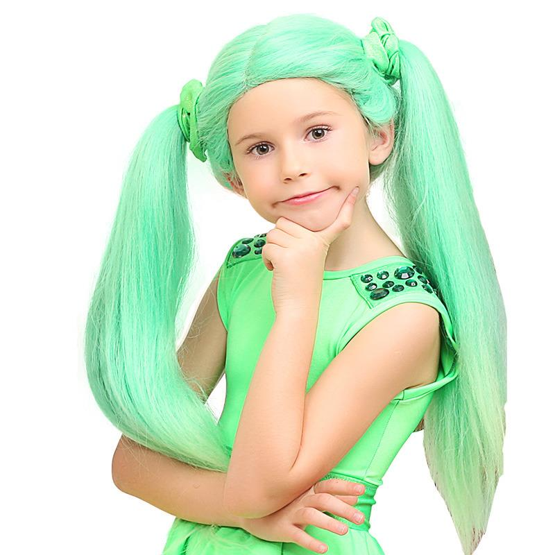 HM Studio Paruka Lollipopz zelená