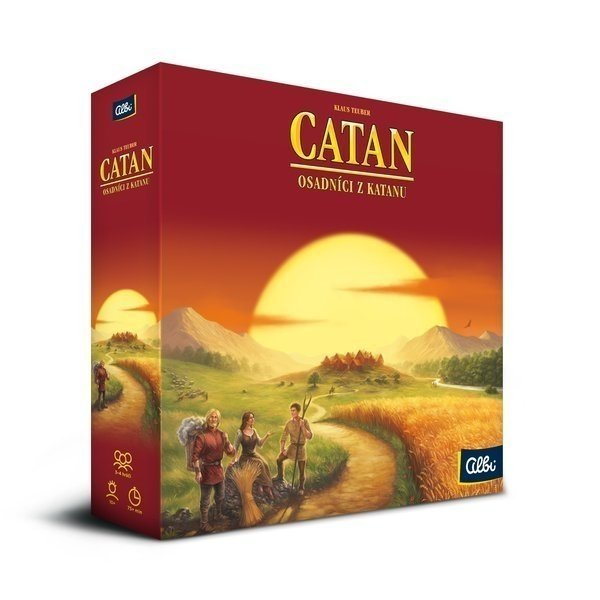 Albi Catan Osadníci z Katanu Základní hra