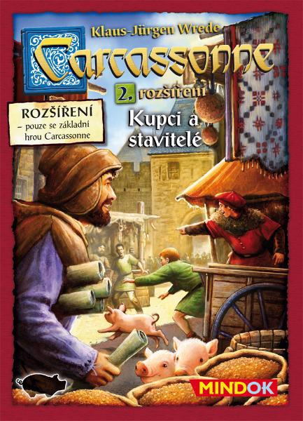 Mindok Carcassonne rozšíření 2 Kupci a stavitelé