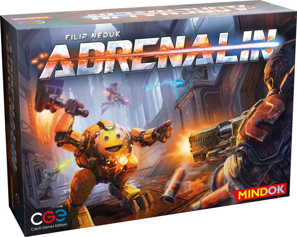 Mindok Společenská hra Adrenalin