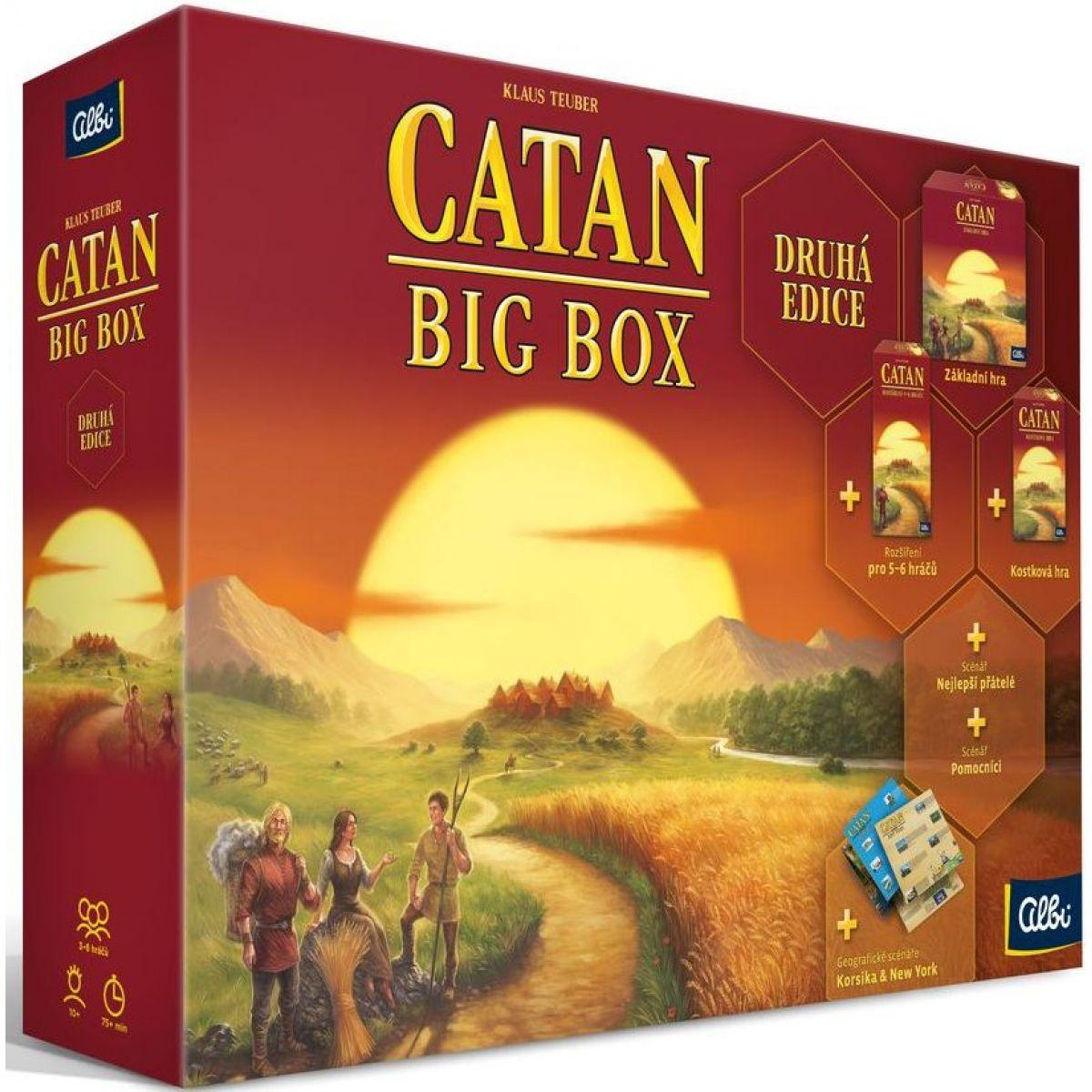Albi Catan Big Box Druhá Edice