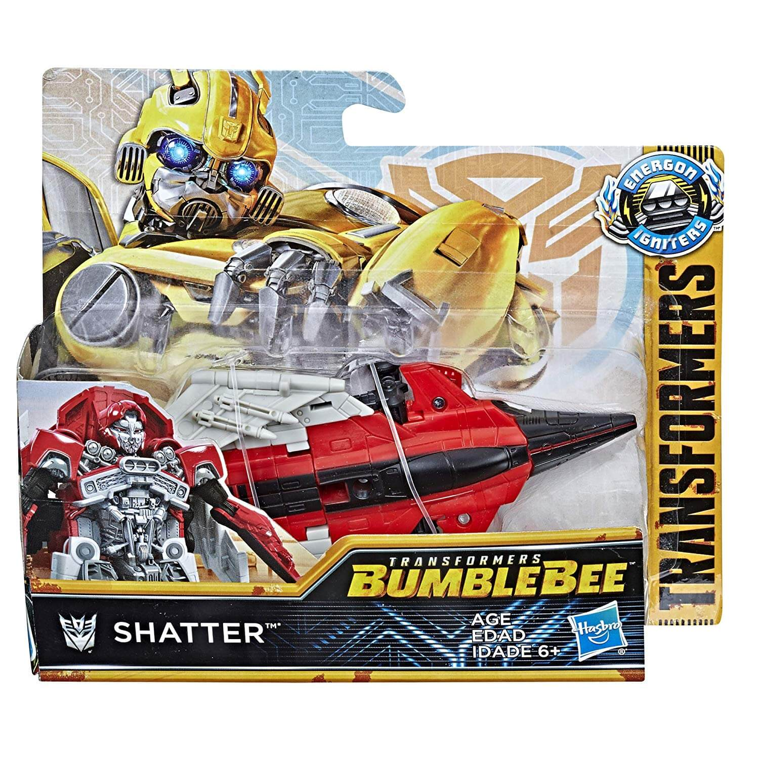 Hasbro TRANSFORMERS Auto robot SHATTER Energon Igniters Speed Series