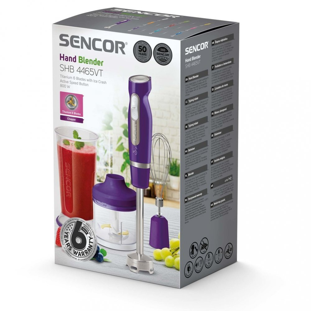 SENCOR SHB 4465VT tyčový mixér