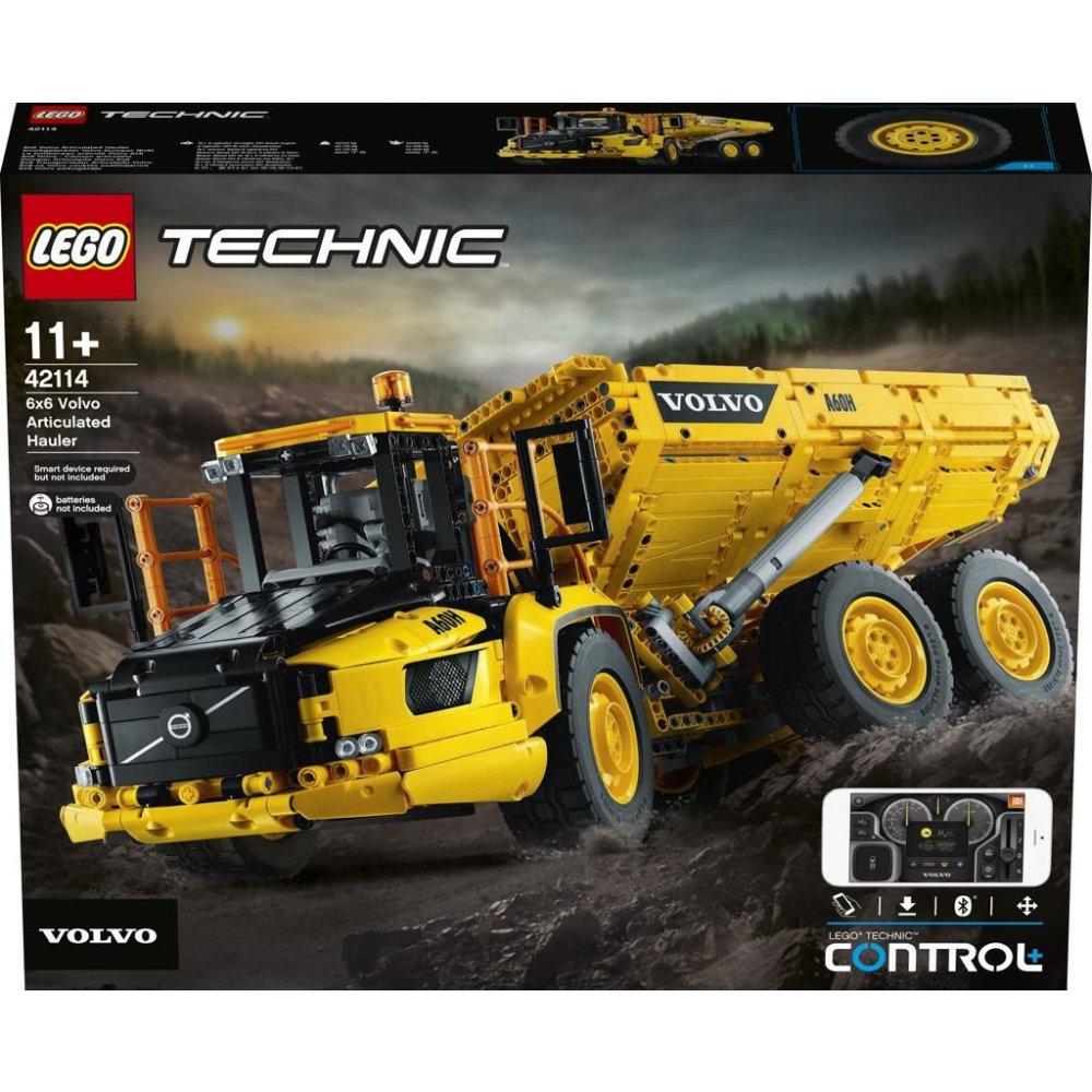 LEGO Technic Power Functions 42114 Kloubový dampr Volvo 6x6