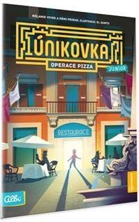 Albi Kniha Operace Pizza únikovka junior