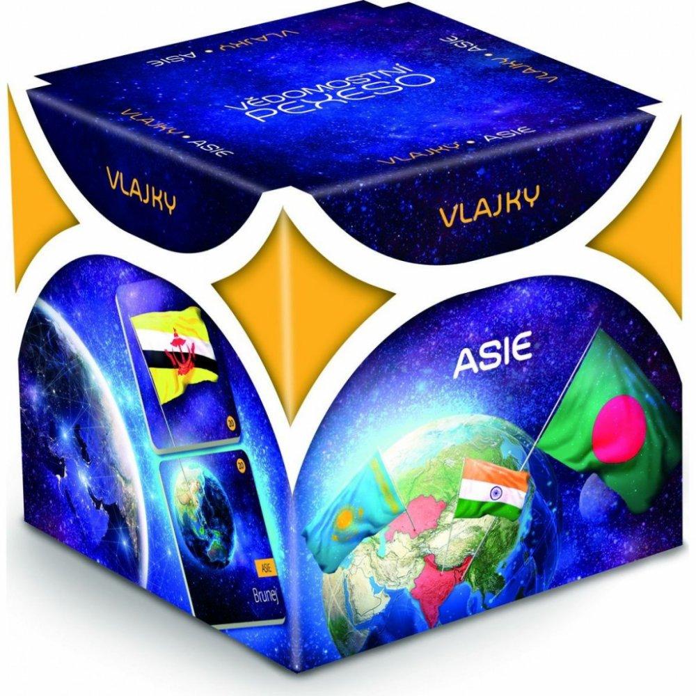 Albi Vědomostní pexeso Vlajky Asie
