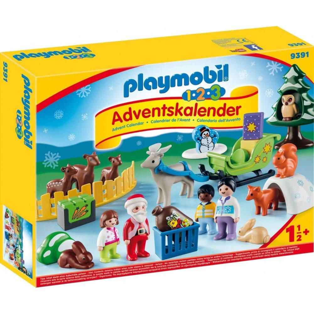 Playmobil 9391 Adventní kalendář Vánoce v lese
