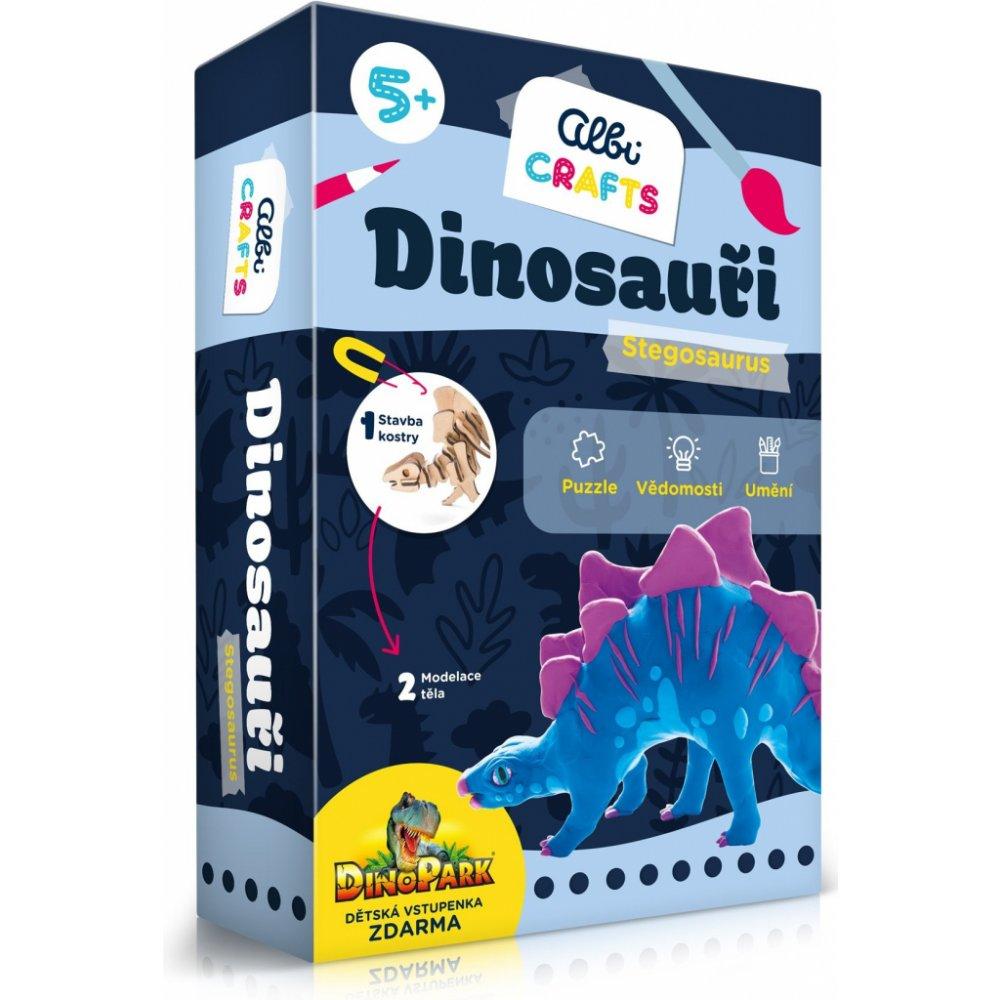 Albi Crafts Dinosauři Stegosaurus