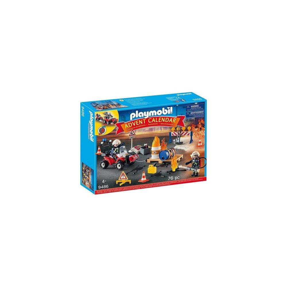 Playmobil 9486 adventní kalendář Hasiči