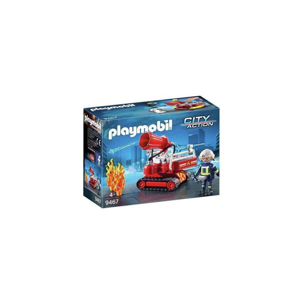 Playmobil 9467 Hasičský robotický vůz