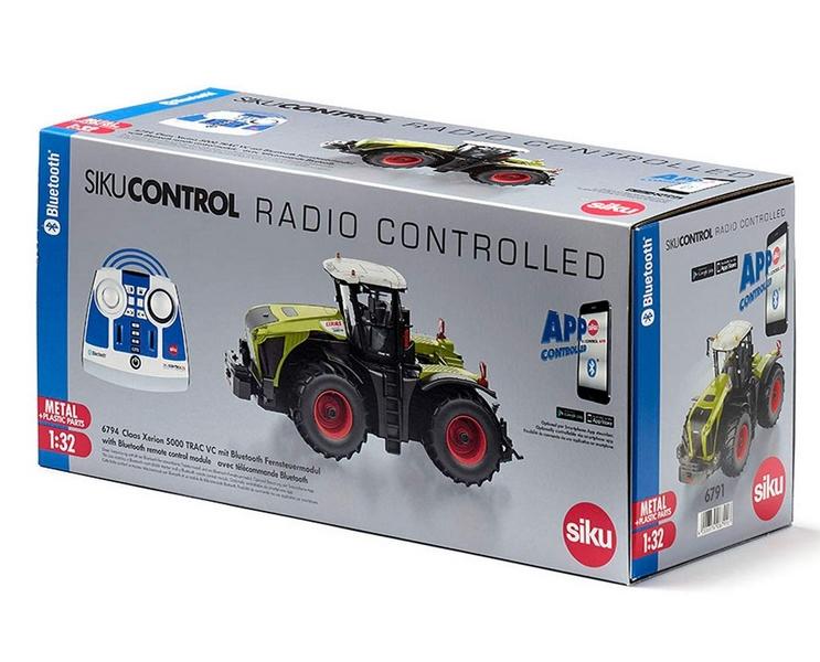 SIKU CONTROL 6794 RC Traktor CLAAS XERION 5000 TRAC VC 1:32