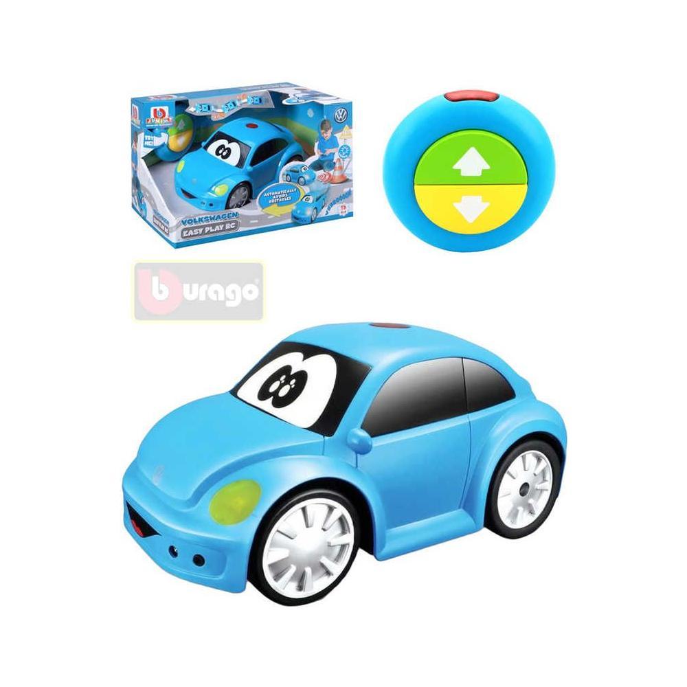 BBJUNIOR Baby RC Auto Volkswagen Beetle na vysílačku na baterie Světlo Zvuk