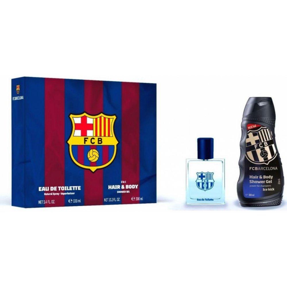 Alltoys FC Barcelona EDT 100 ml + sprchový gel 300 ml dárková sada