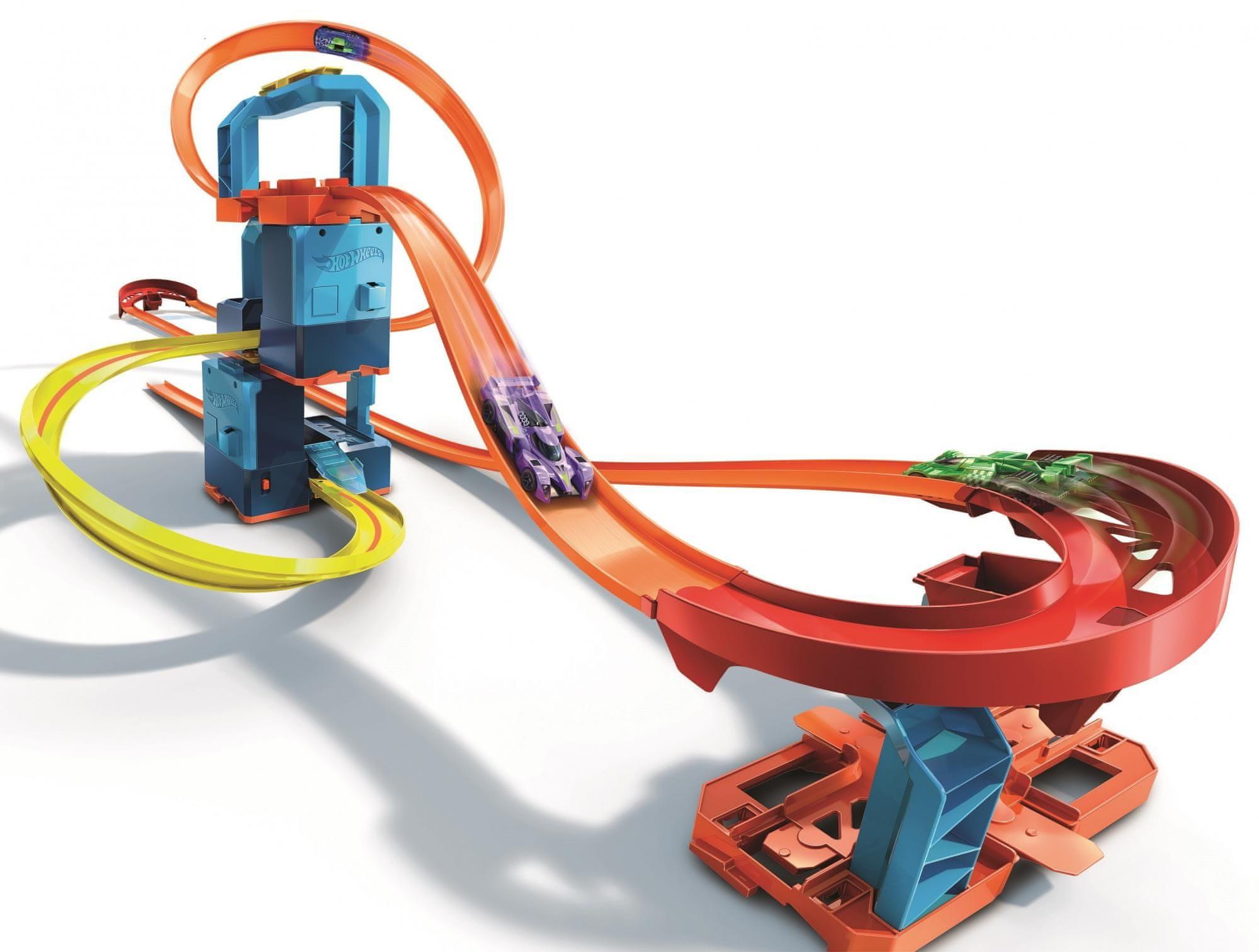 Hot Wheels Track Builder Motorizovaný set