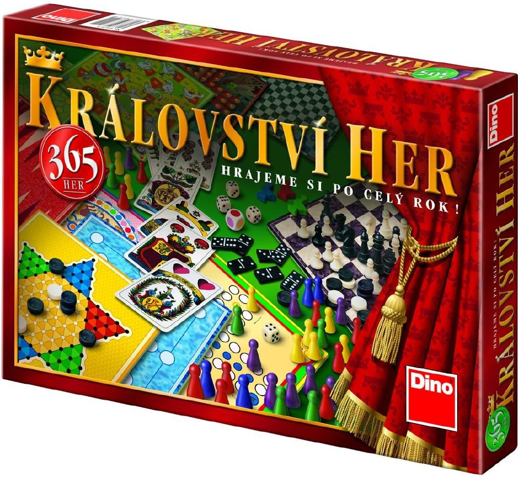 Dino Království her (365 her) nové