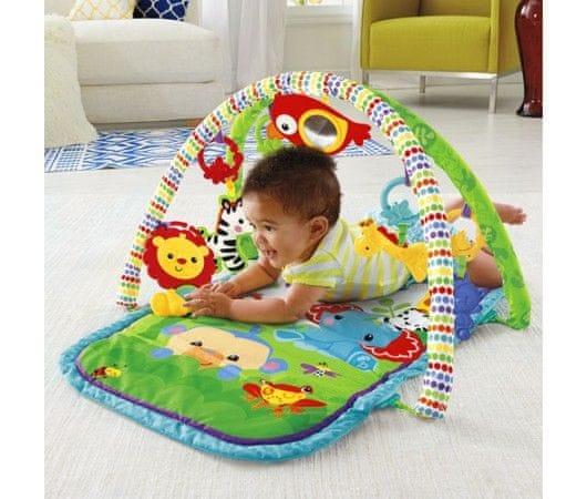 Mattel Fisher-Price Hrazdička pro aktivní dítě 3v1 rainforest