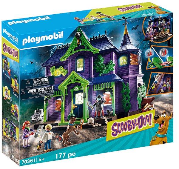 SCOOBY-DOO! Dobrodružství ve strašidelném domě playmobil 70361