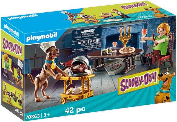 SCOOBY-DOO! Večeře se Shaggym playmobil 70363