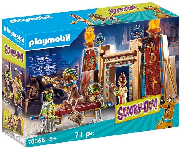 SCOOBY-DOO! Dobrodružství v Egyptě playmobil 70365