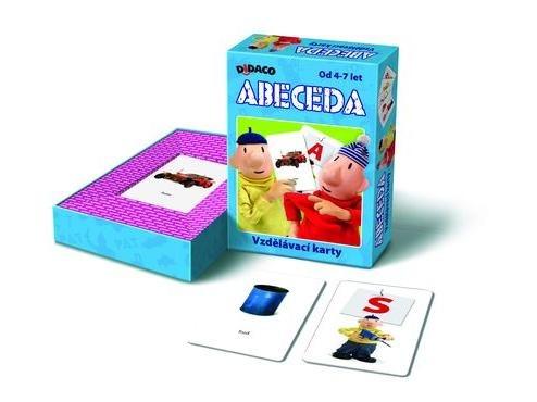 All4toys Vzdělávací karty Abeceda PAT a MAT
