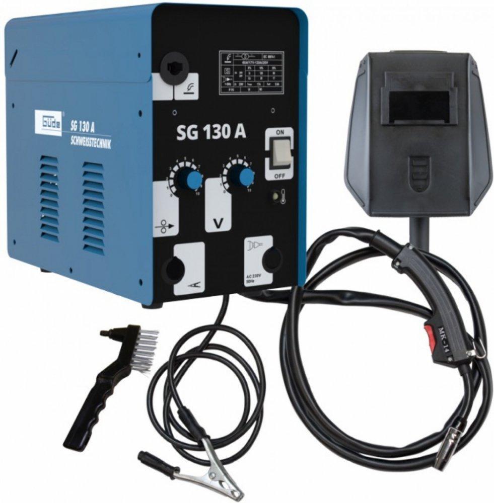GÜDE Svářečka SG 130 A s plněnou drátovou elektrodou 20071