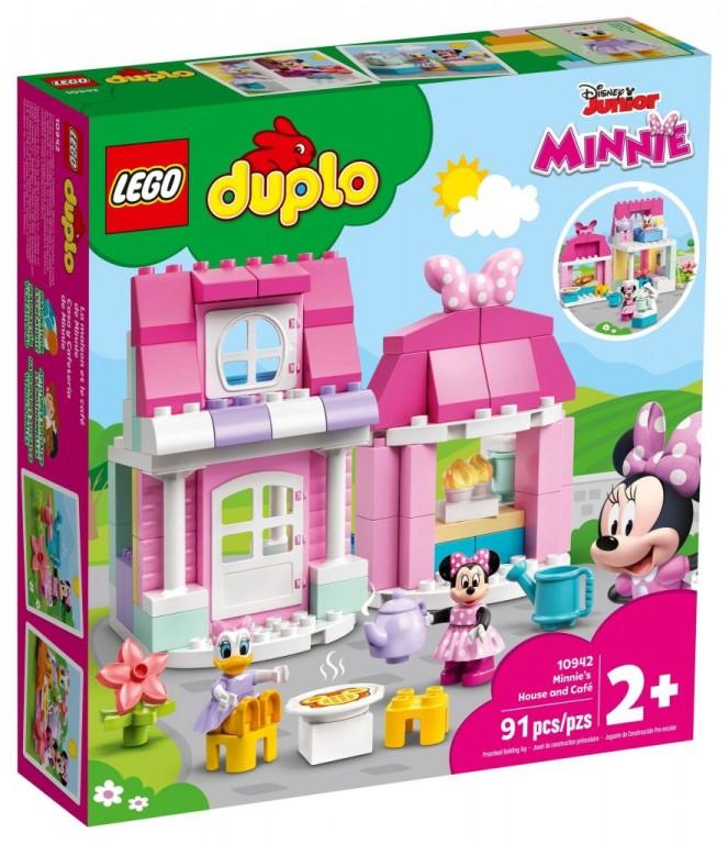 LEGO Duplo 10942 Domek a kavárna Minnie 10942
