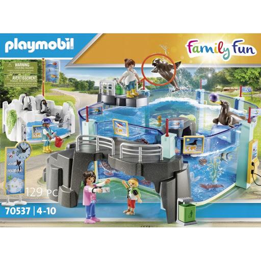 Playmobil 70537 tučňácké akvárium s bazénem 70537