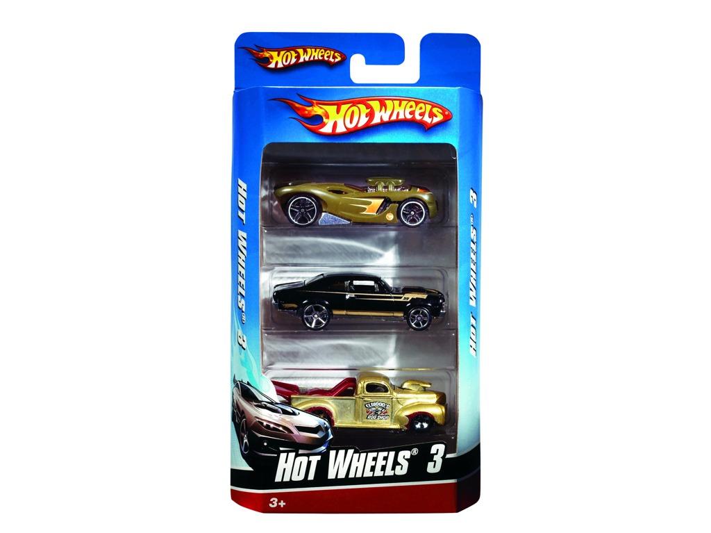 All4toys Hot Wheels angličák 3pack