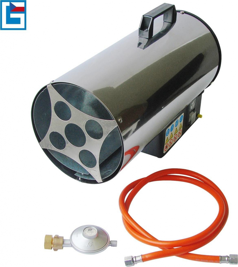 GÜDE Horkovzdušná plynová turbína GGH 17 INOX 85006