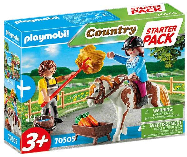 Playmobil StarterPack KOŇSKÁ STÁJ DOPLNĚK 70505 70503
