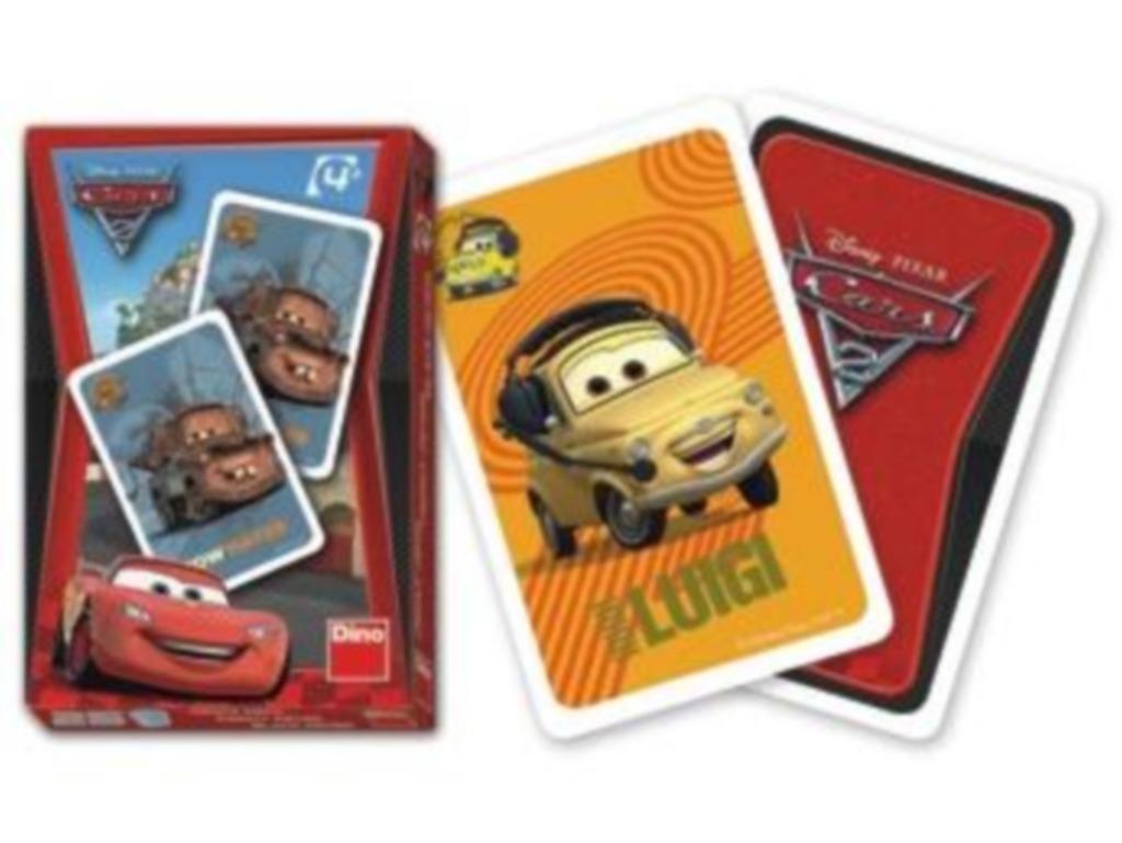 All4toys Karty Cars 2 - Černý Petr