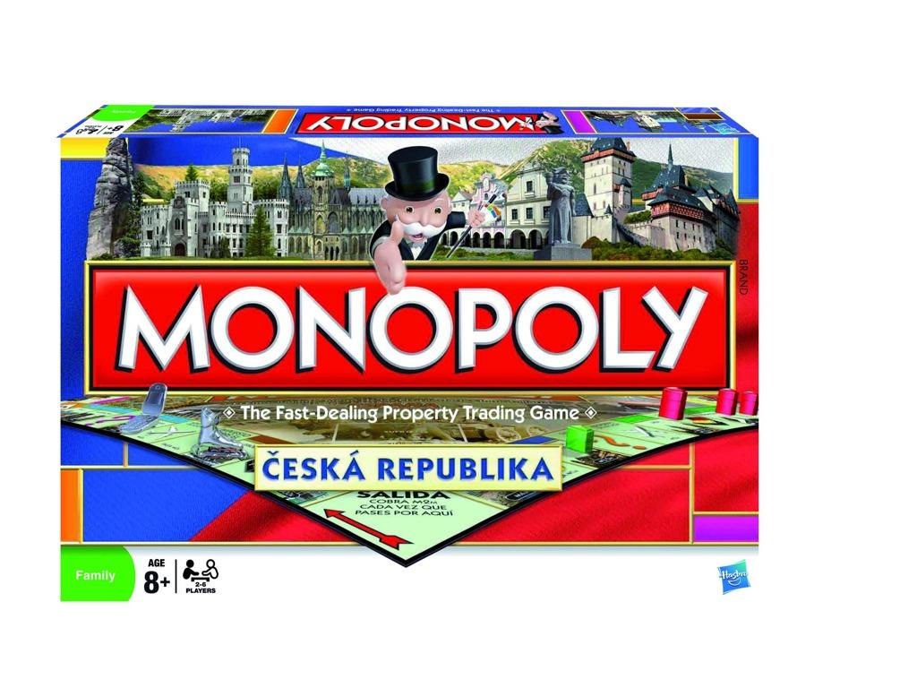 All4toys Monopoly národní edice cz