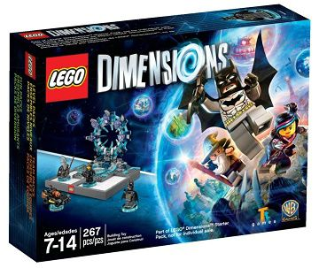 71170 LEGO DIMENSIONS Starter Pack PLAYSTATION 3 ps3