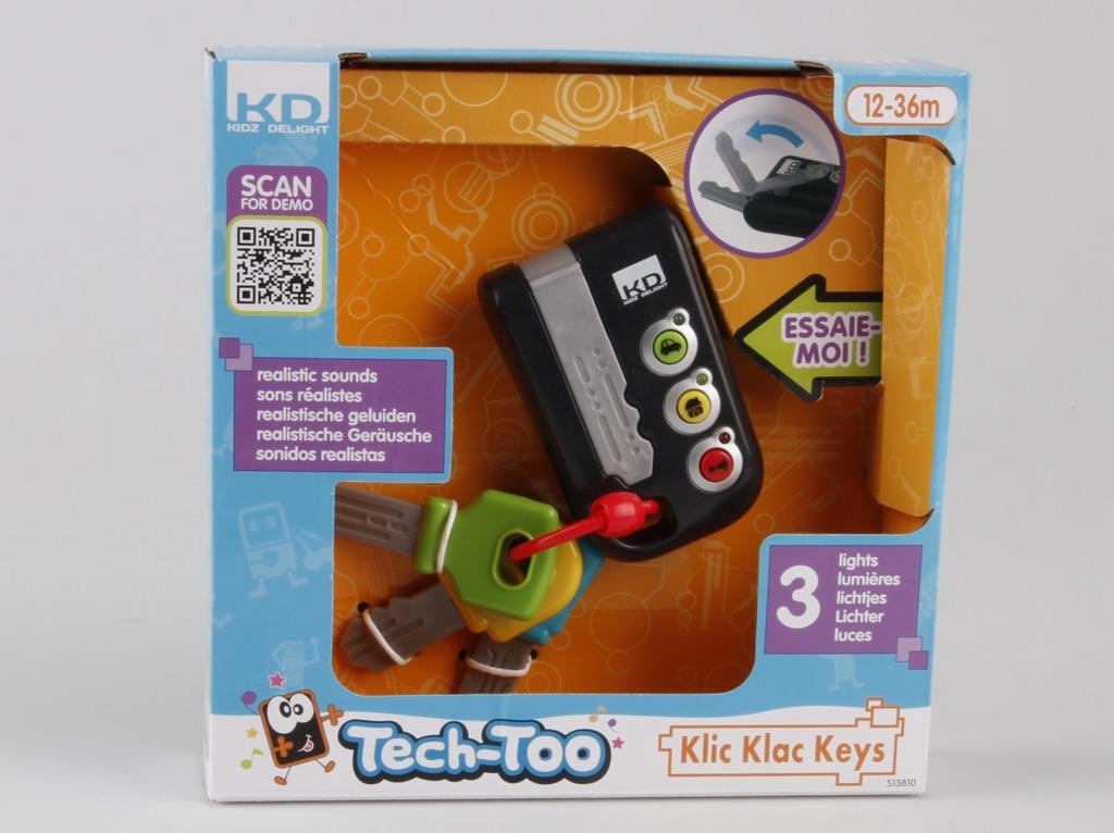 All4toys Klíče od auta Kooky