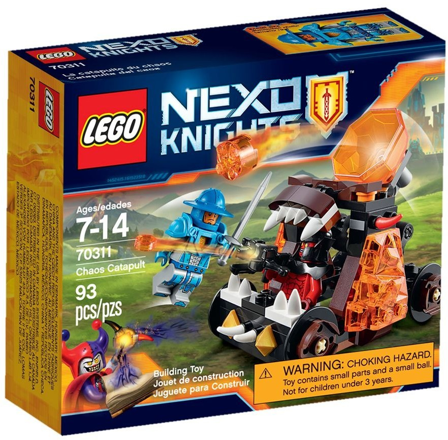LEGO Nexo Knights 70311 Confidential BB 2016 PT 2