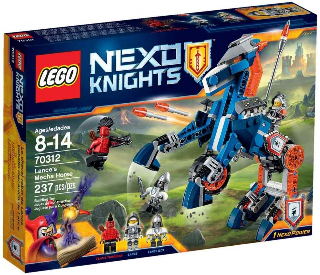 LEGO Nexo Knights 70312 Confidential BB 2016 PT 3