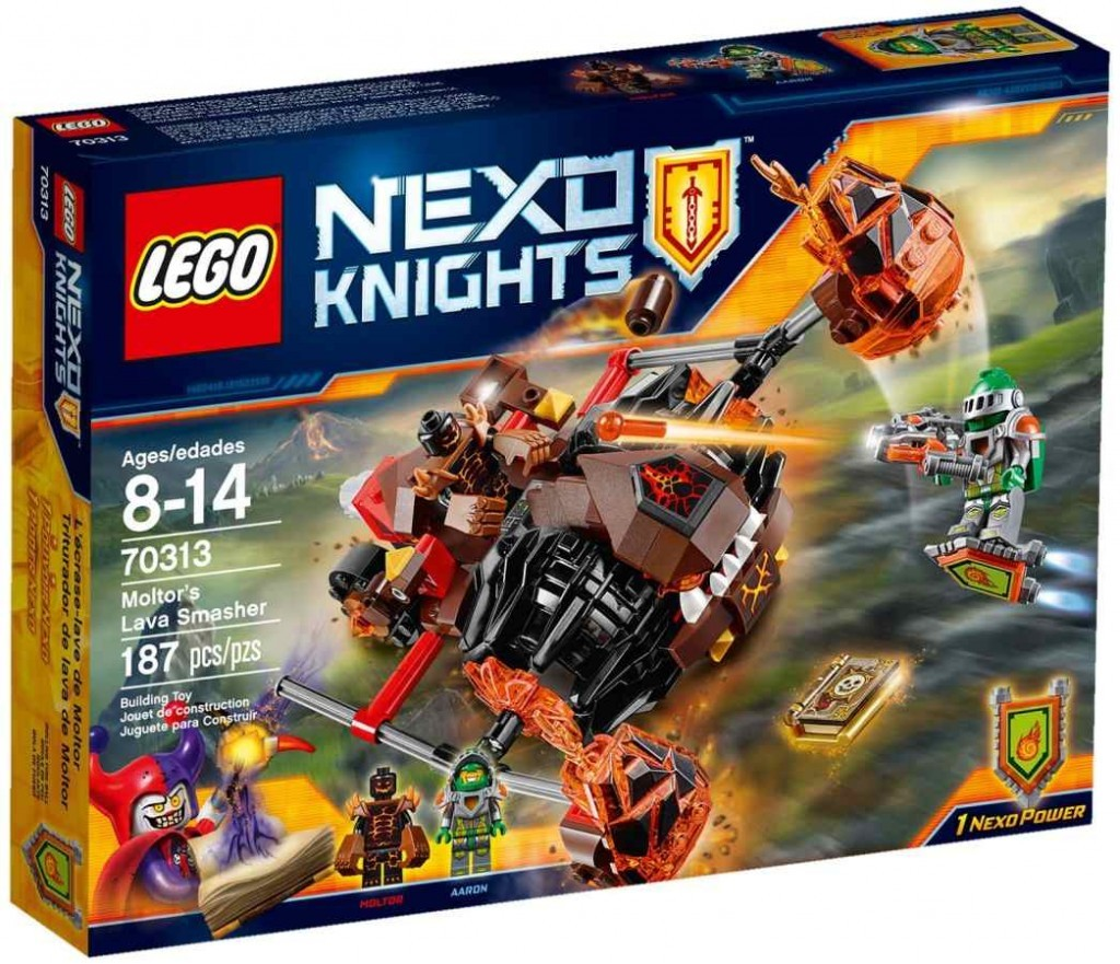 LEGO Nexo Knights 70313 Confidential BB 2016 PT 4