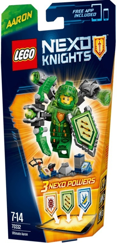 LEGO Nexo Knights 70332 Confidential BB 2016 New Offer 1HY 3