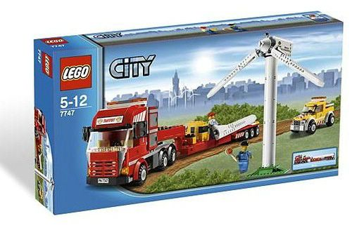 Lego 7747 City Transport větrné turbíny