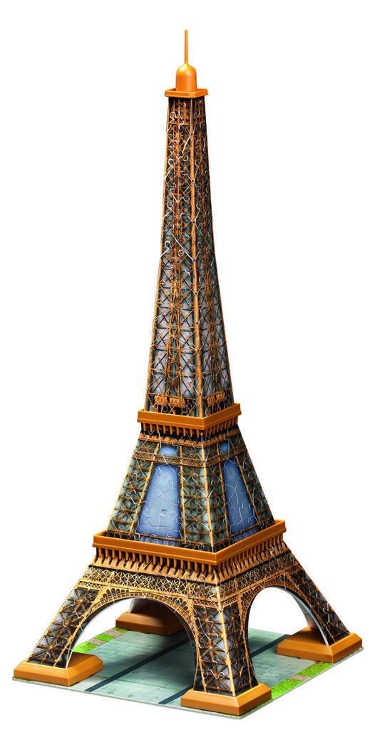 All4toys Puzzle Eiffelova věž 216 dílků