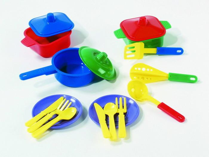 All4toys Jídelní set - talířky + příbory