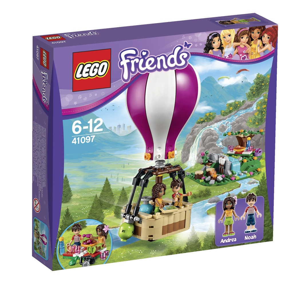 All4toys LEGO Friends Horkovzdušný balón v Heartlake