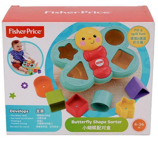 All4toys Fisher Price motýlek - učíme se tvary!