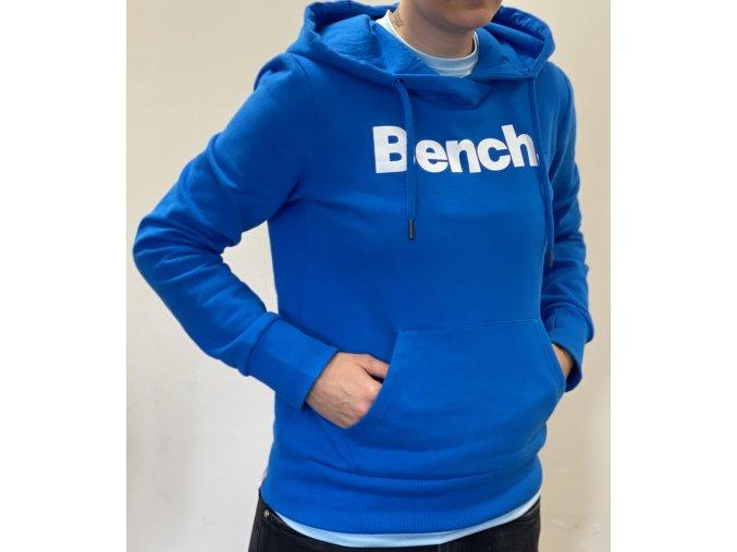 Mikina Bench - modrá přes hlavu - UNISEX (Velikost XS)