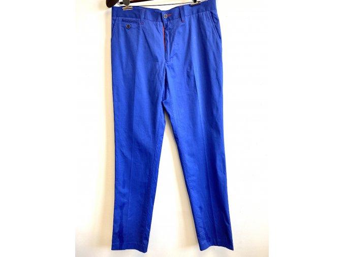 Pánské strečové kalhoty Dosgalgos modré (Velikost 44)