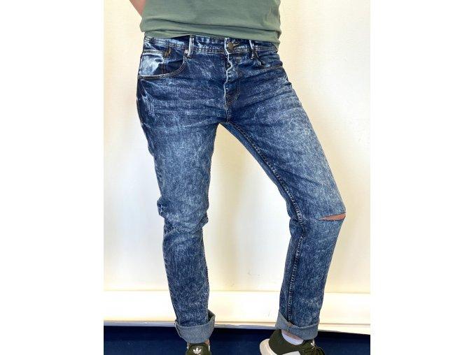 Pánské skiny jeans Loyalty & Faith tmavě modré (Velikost 40)