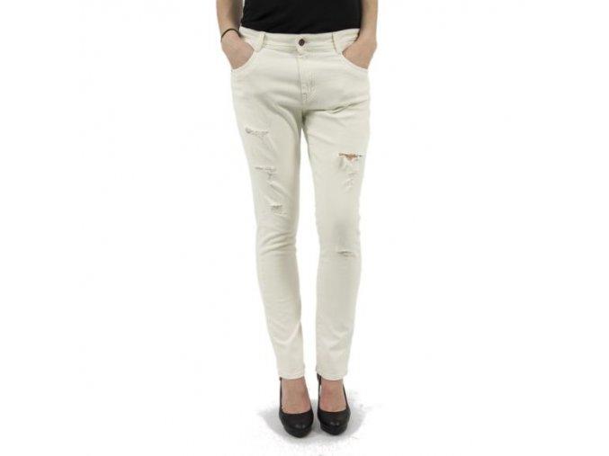 Dámské džíny Lee Cooper bílé (smetanové) (Velikost W33/30L)