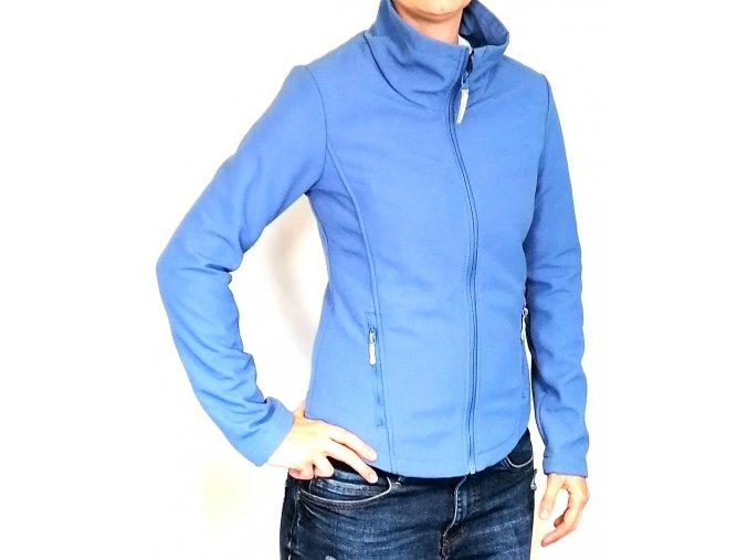 Unisex softshellová bunda Bench, modrá (Velikost S)